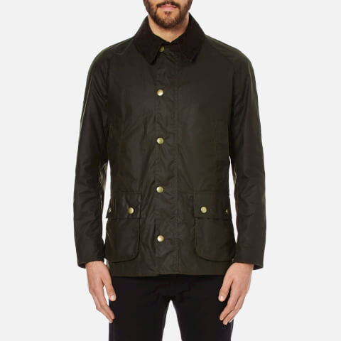 Barbour Men's Ashby Wax Jacket - Olive