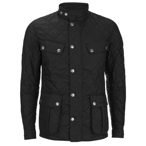 Barbour International Men's Ariel Quilt Jacket - Black