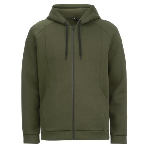 T by Alexander Wang Men's Scuba Hooded Sweatshirt - Army