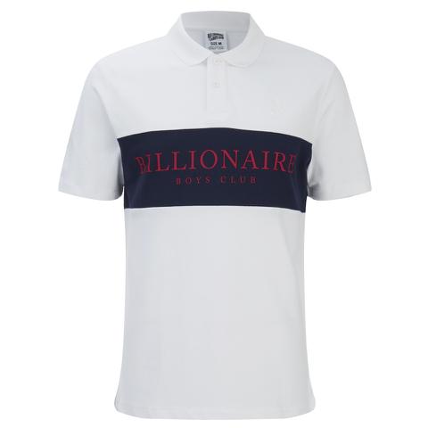 Billionaire Boys Club Men's Monaco Polo Shirt - White/Navy