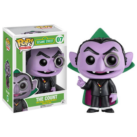 Sesame Street The Count Funko Pop! Figuur