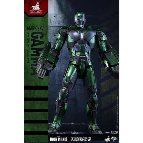 Hot Toys Marvel Iron Man 3 Party Protocol Iron Man Mark XXVI Gamma 1:6 Scale Figure