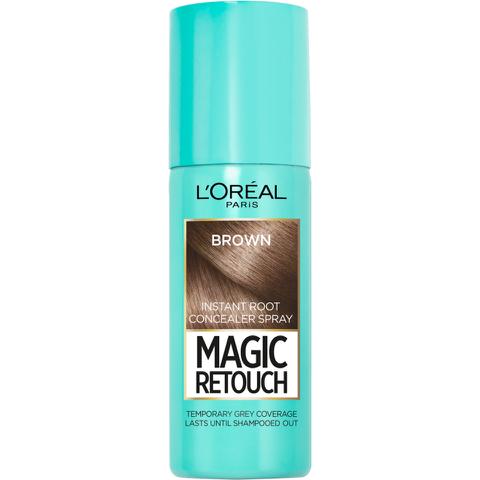 L'Oréal Paris Magic Retouch Instant Root Concealer Spray - Medium Brown (75ml)