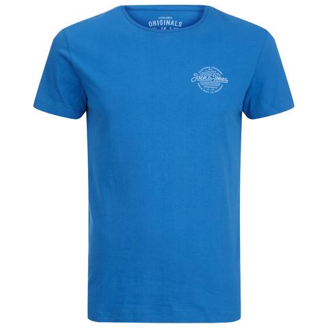 Jack & Jones Men's Originals Smooth T-Shirt - Imperial Blue