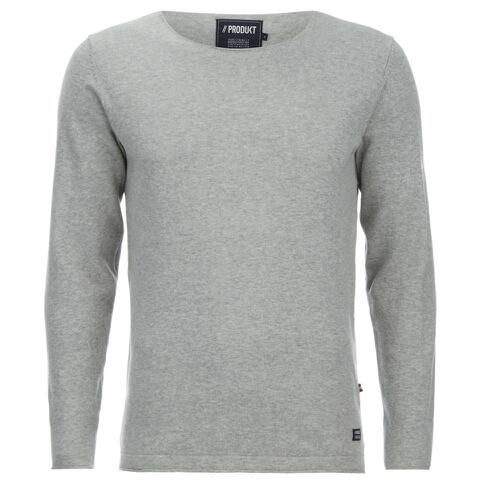 Produkt Men's Crew Neck Jumper - Light Grey Melange