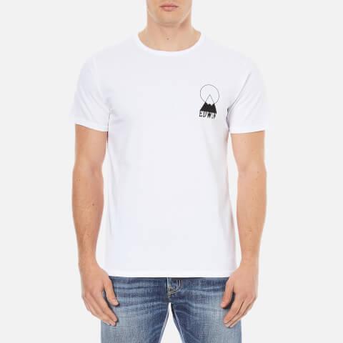 Edwin Men's Fuji Logo T-Shirt - White