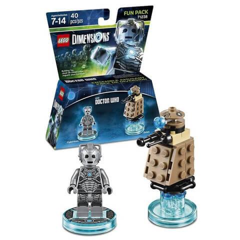 LEGO Dimensions Dr Who Cyberman & Dalek Fun Pack