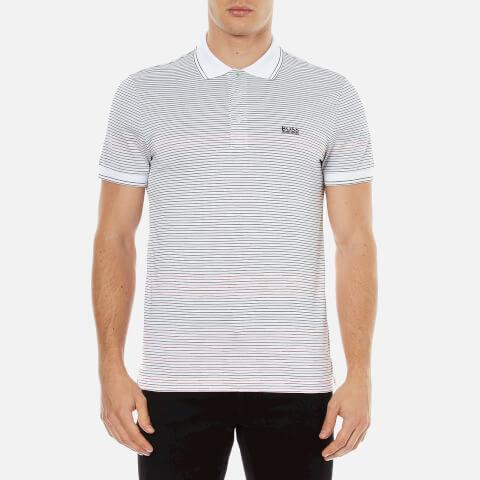 BOSS Green Men's Paddy 2 Polo Shirt - White