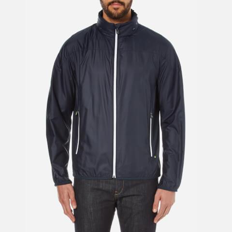 BOSS Green Men's Jiano Zipped Jacket - Navy