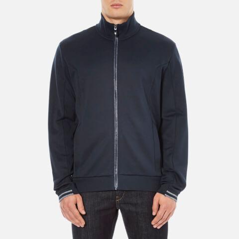 BOSS Green Men's Skaz Zipped Sweatshirt - Navy