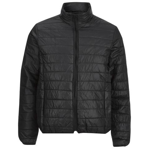 Brave Soul Men's Laing Matt Padded Jacket - Black