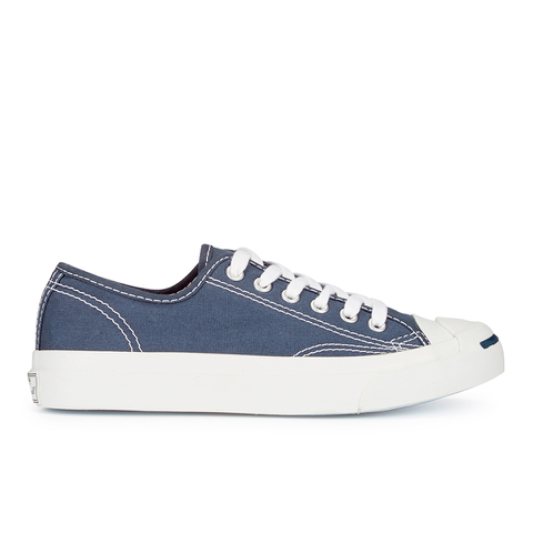 Converse Jack Purcell Unisex Canvas Trainers - Navy/White