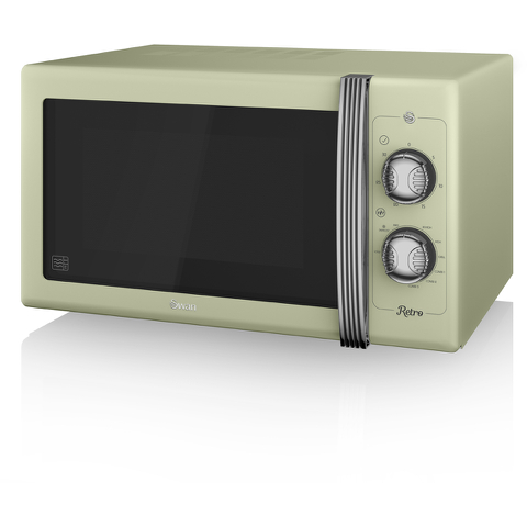 Swan SM22070GN Manual Microwave - Green - 900W