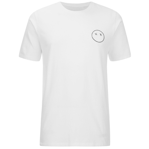 rag & bone Men's Sour Face Embroidery T-Shirt - Bright White