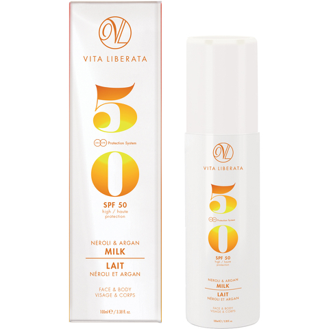 Vita Liberata Neroli & Argan Milk SPF 50 100ml