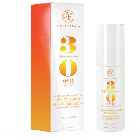 Vita Liberata Passionflower & Argan Dry Oil Face Serum 30ml
