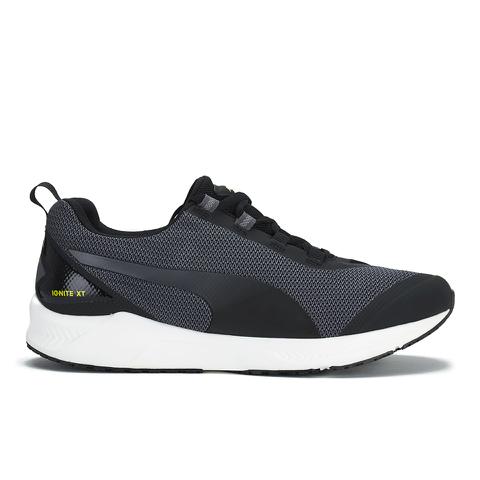 Puma Men's Ignite XT Running Trainers - Black/Periscope