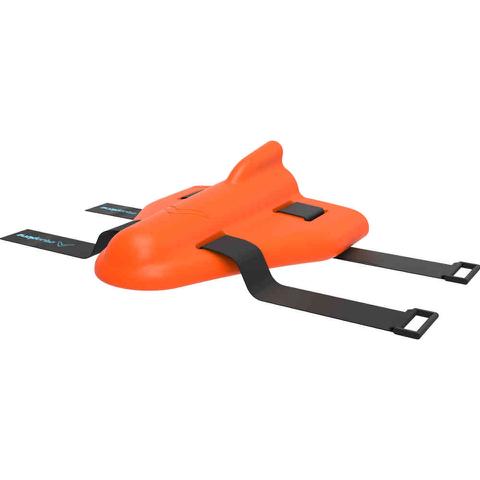 AquaPlane Swimming Aid - Orange Sunburst