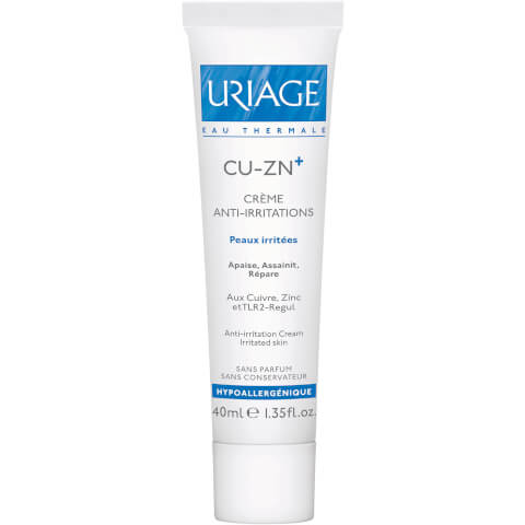 Uriage Cu-Zn+ Copper and Zinc Anti-Irritation Cream (40ml)