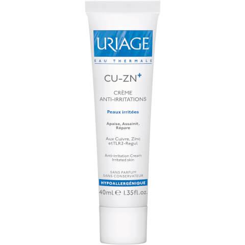 Uriage Cu-Zn+ Copper and Zinc Anti-Irritation Cream (40ml)