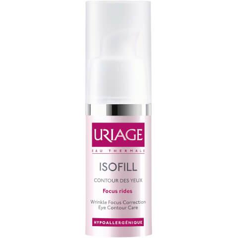 Crema Antienvejecimiento para Contorno de Ojos Uriage Isofill (15ml)