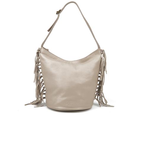 UGG Women's Lea Leather Hobo Bag - Taupe