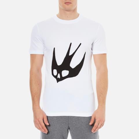 McQ Alexander McQueen Men's Short Sleeve Swallow Crew T-Shirt - Optic White