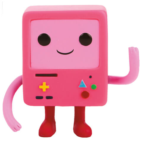 Hora de Aventuras Pink BMO Limited Edition Pop! Vinyl Figure