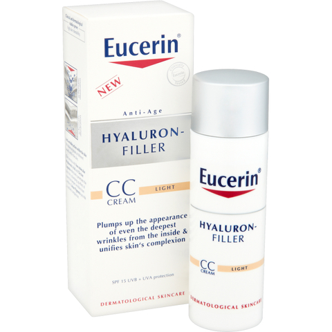 Eucerin® Anti-Age Hyaluron-Filler CC Cream 50ml - Light