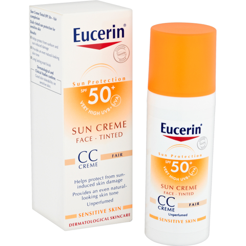 Eucerin® Sun Protection Face Sun Crème Tinted SPF 50+ 50ml