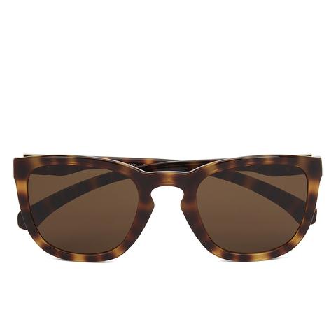 Calvin Klein Jeans Unisex Rectangle Sunglasses - Warm Tortoise