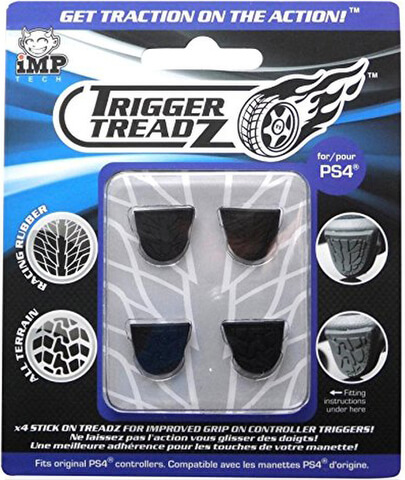 TriggerTreadZ 4 Pack (PS4)