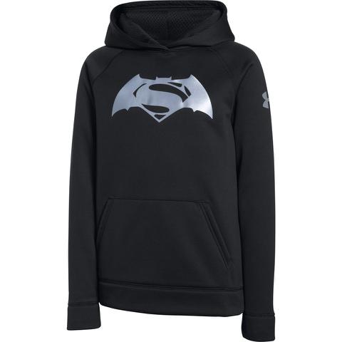 Under Armour Boy's Transform Yourself Superman v Batman Hoody - Black