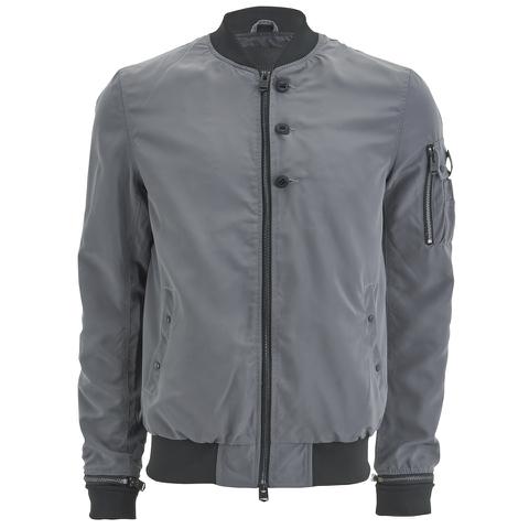 4Bidden Men's Action Bomber Jacket - Grey