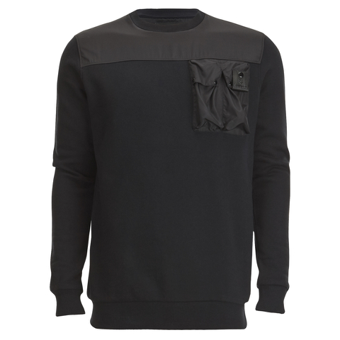 4Bidden Men's Liberty Crew Neck Sweatshirt - Black