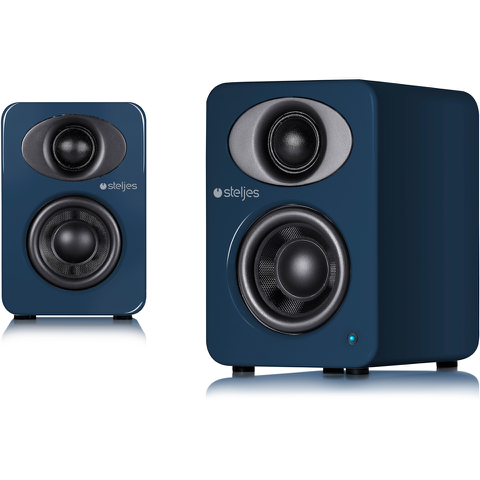 Steljes Audio NS1 Bluetooth Duo Speakers - Artisan Blue