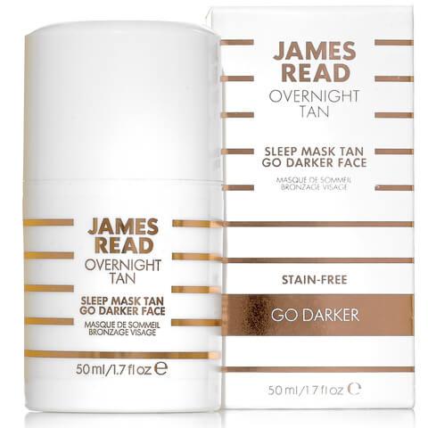 James Read Sleep Mask Tan Go Darker Face (50ml)
