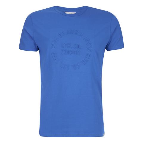 Jack & Jones Men's Core Columbus T-Shirt - Director Blue