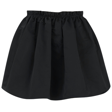 McQ Alexander McQueen Women's Crinkled Skirt - Black