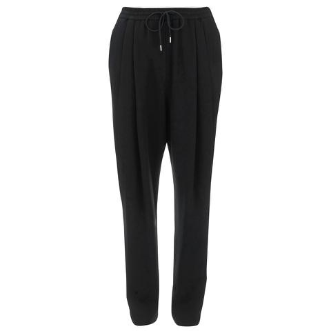 McQ Alexander McQueen Women's Pleat Front Loose Trousers - Black