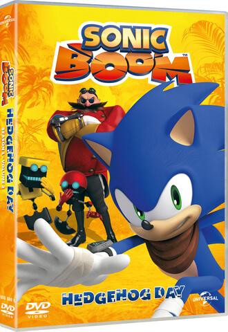 Sonic Boom Volume 2: Hedgehog Day (Includes Free Sticker Sheet)