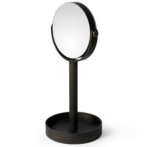 Wireworks Dark Oak Magnify Mirror