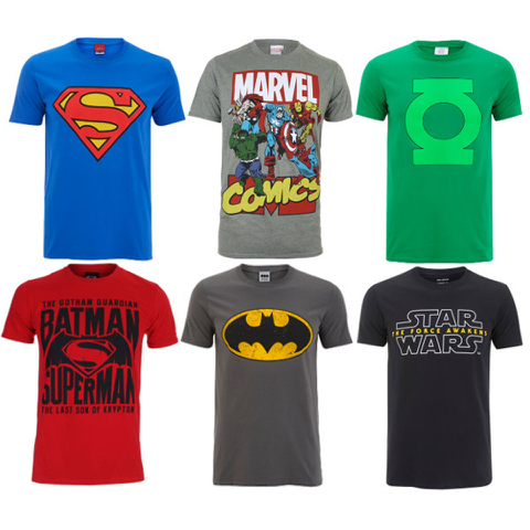 Men's Geeky T-Shirts - 15 Options