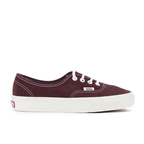Vans Women's Authentic Varsity Suede Trainers - Red Mahogany