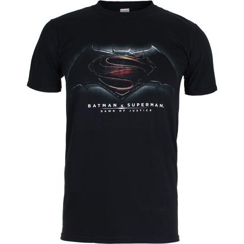 DC Comics Batman v Superman Dawn of Justice Herren T-Shirt - Schwarz