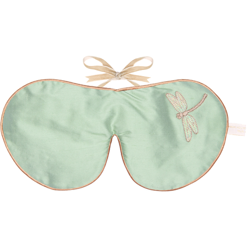 Holistic Silk Lavender Eye Mask - Jade Dragonfly