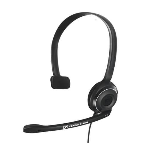 Sennheiser PC 7 USB Lighweight On-Ear Gaming Headset with Mic - Black