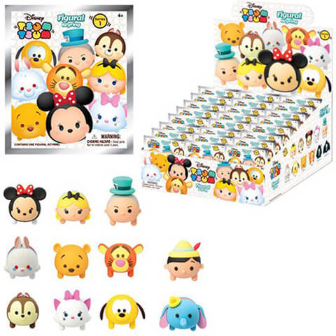 Disney Tsum Tsum Figural Foam Key Chain