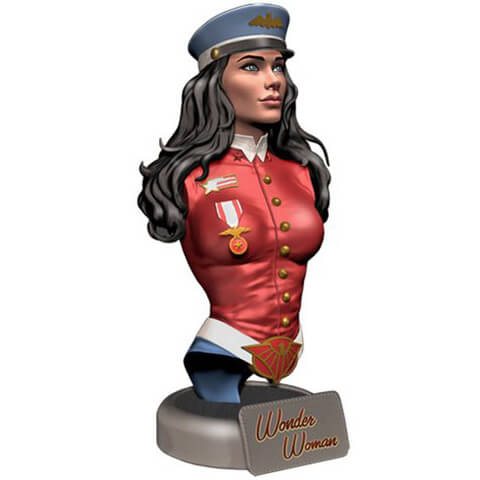 DC Comics Bombshells Wonder Woman Bust