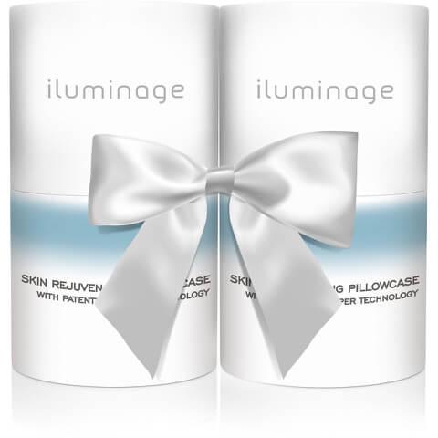 Iluminage Pillowcase Duo Pack (Worth £100)